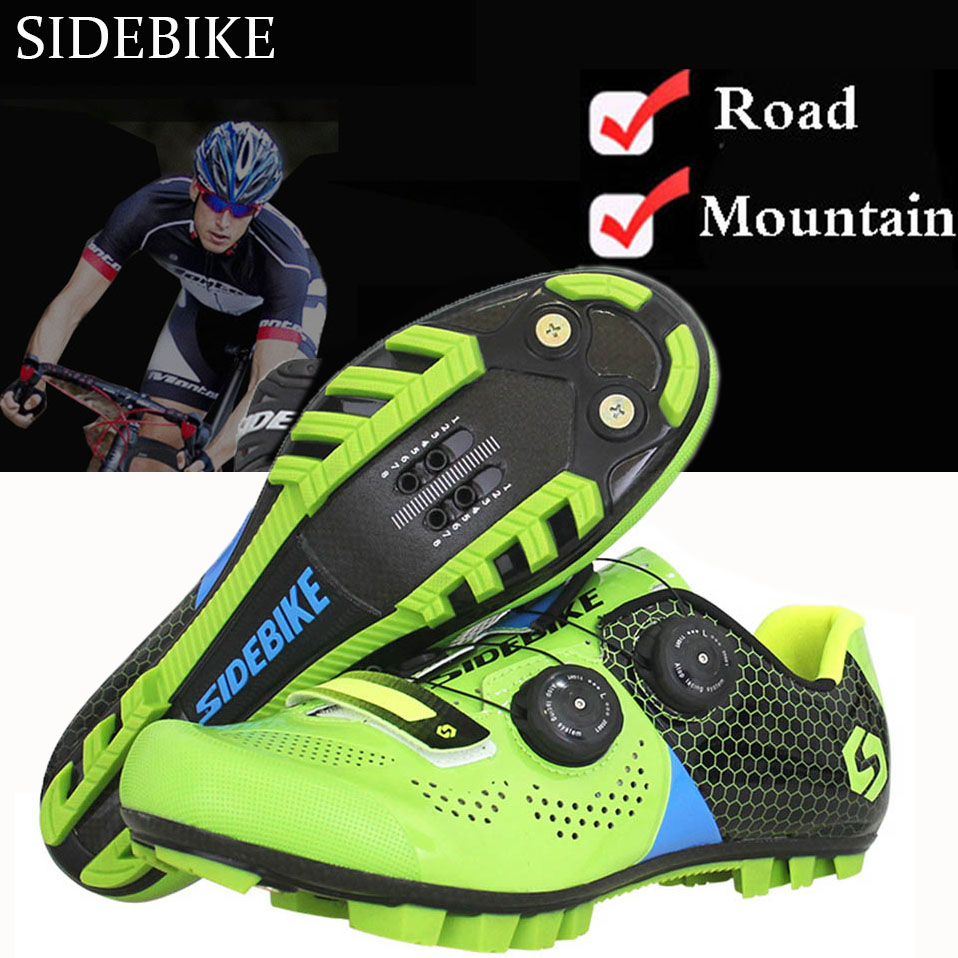 Sidebike Cycling Shoes Men Women Bicycle shoes Mountain Road Breathable zapatillas ciclismo MTB Shoes Non-slip Auto-lock shoes