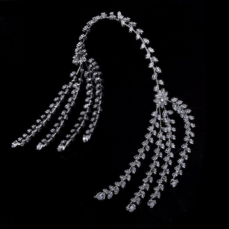 Wedding Hair Accessories Fashion Novel Trendy Design Bridal Hair Jewelry Elegant Luxury For Women BC4867 Haar