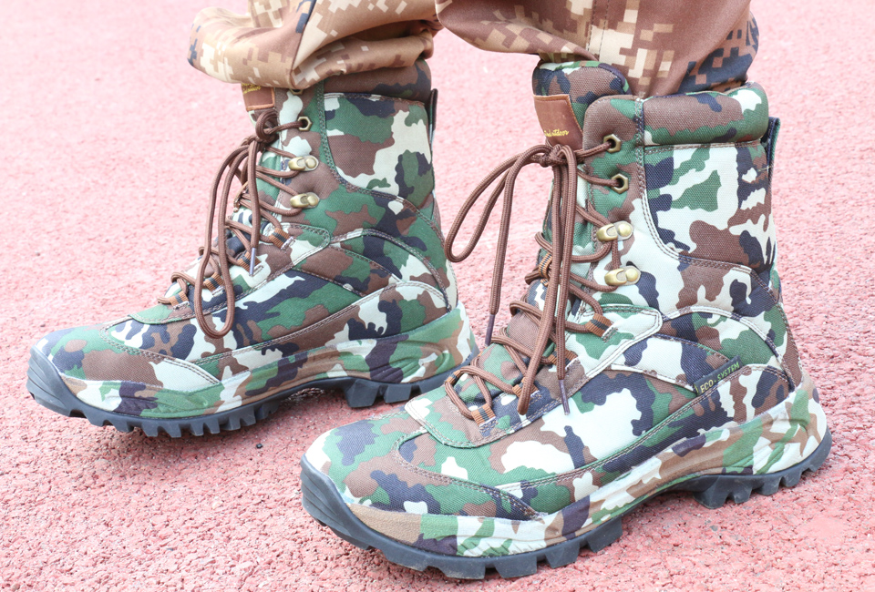 PINTO COMBAT BOOTS