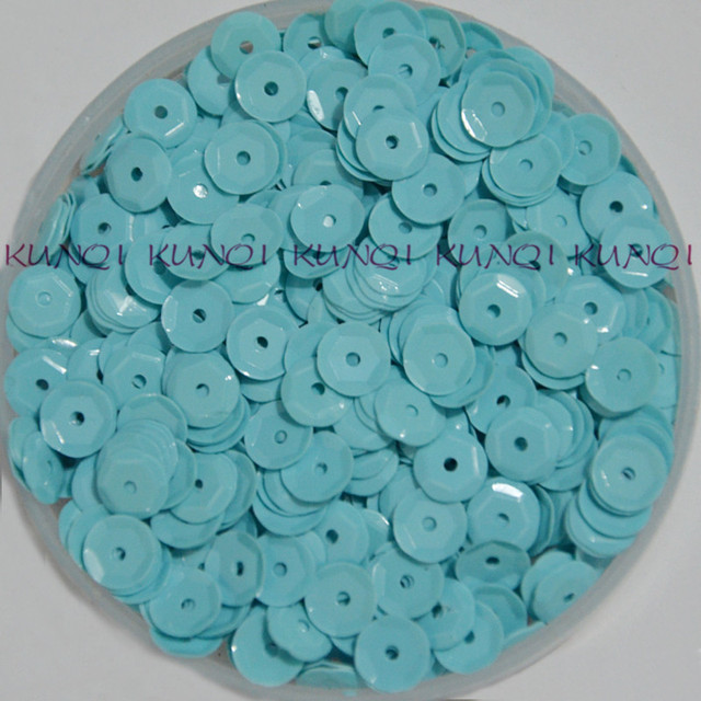 60g 6mm Cup Round Loose Sequin Paillette Sewing Craft 558d0fcd7e59