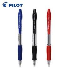 9 個パイロット BPGP 10R スーパーグリップボールペンボールペン透明なプラスチック 0.7 ミリメートルオフィス学用品