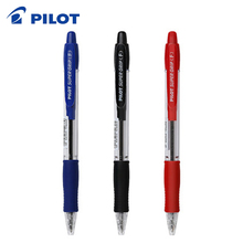 9 조각 파일럿 BPGP 10R 슈퍼 그립 볼펜 볼 포인트 펜 투명 플라스틱 0.7mm 사무 용품