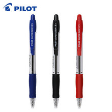 9 Stuks Pilot BPGP-10R Super Grip Balpennen Balpen Transparante Plastic 0.7 Mm Kantoor School Supplies(China)