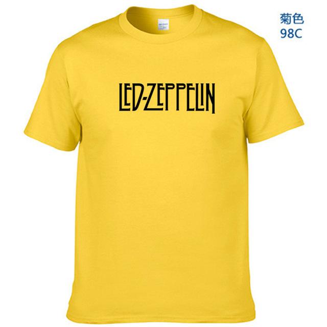 Led Zeppelin Logo T Shirt Mens