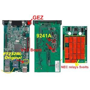 Image 3 - CDP TCS pro plus V3.0 herramienta de diagnóstico obd2 con keygen para coche y camión, tablero verde, TCS CDP, Bluetooth 2015 R3, 2 uds.