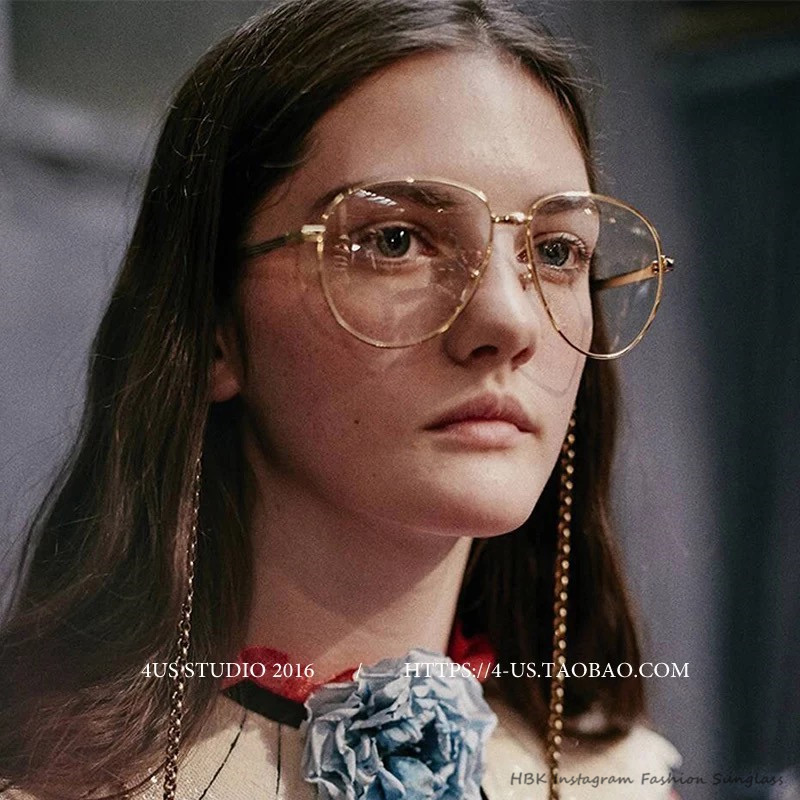 aviator glasses for men udni  HBK Classic Clear Glasses Gold Frame Vintage Sunglass Women Men Optical  UV400 Aviation eyeglass Transparent Against