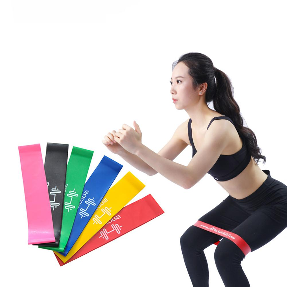 Elastic Bands Strength Training Resistance Band Latex Exercise Loops 5-60 Pounds For Home Gym Exercises Yoga Fitness