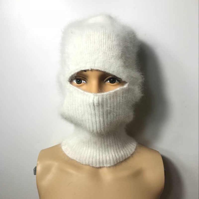 LOVELYDONKEY 男性女性の一般的な目的ミンクカシミヤハンドニット帽子冬暖かい帽子バラクラバ冬送料無料 M1150