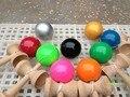 20 peças Boutique Tamanho: 18.5 cmTraditional faia Jogo Kendama Bola colorida Pintura PU tributo profissional