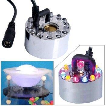 NEW 12 Lights LED MIST MAKER MACHINE POND FOGGER MISTER