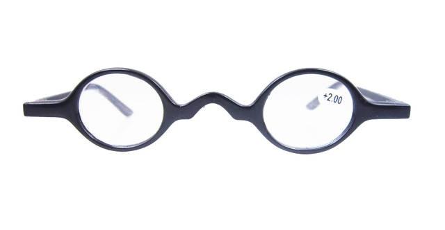 ca58c790f03 Agstum Small Round Eyeglasses Vintage Retro Reading Glasses Reader +1 +1.5  +1.75 +