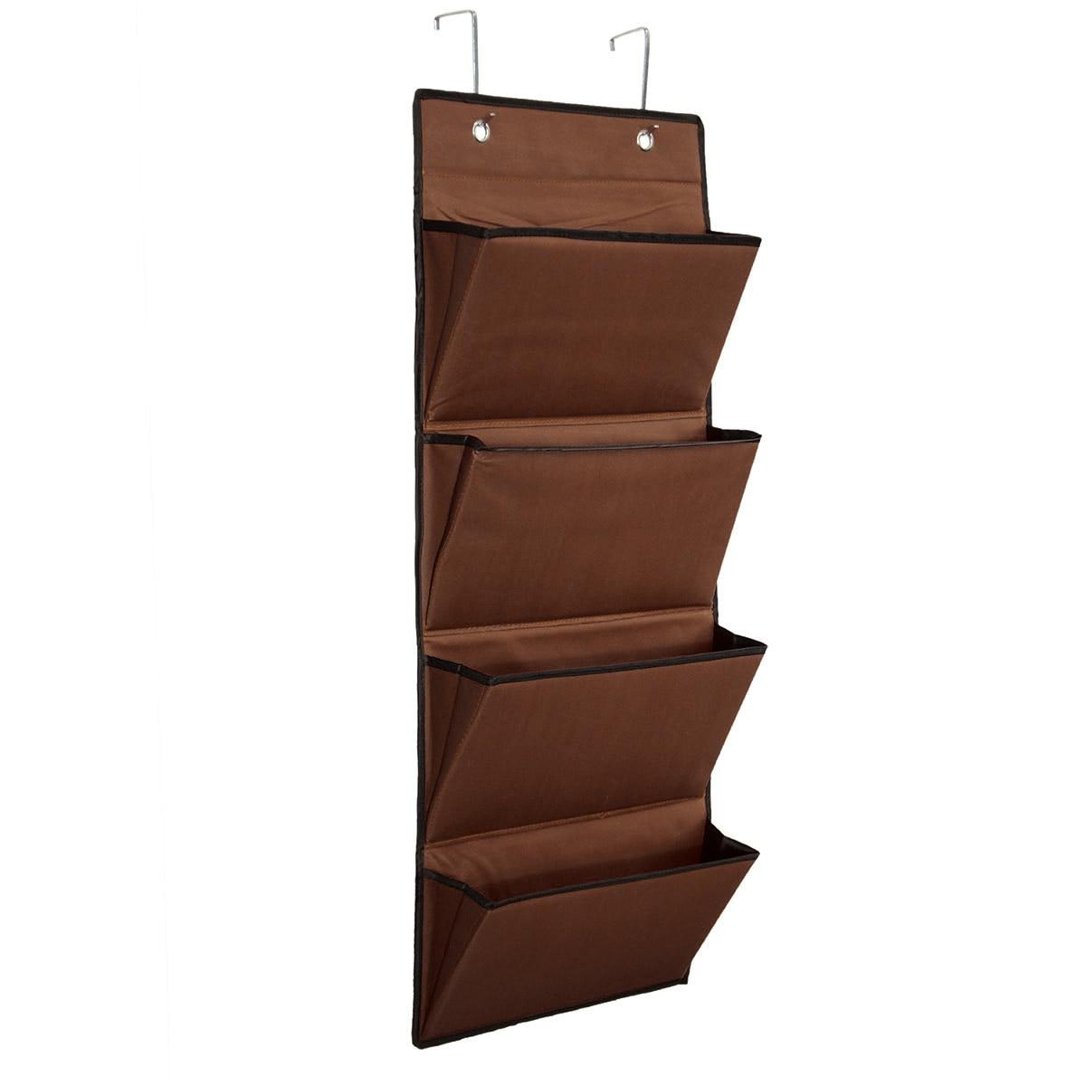 Hanging Storage Bag Book Newspaper Jewelry Organizer Over Door