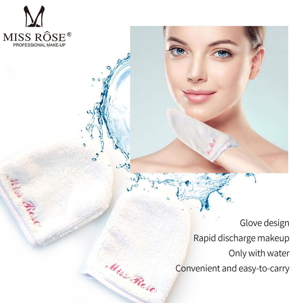 Miss Rose Makeup Remover Microfiber Reusable Cotton Pads Cloth Skincare Sponge Bamboofi