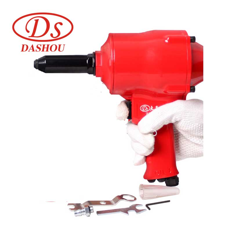 DS Pneumatic Tool Pneumatic Riveter Guns Type Air Riveter Set 2.4-4.8mm Air Rivet Gun Powerful Riveting Air Tool free shipping high quality taiwan air riveter gun pneumatic riveters pneumatic rivet gun riveting tool 2 4mm 4 8mm