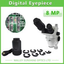 Cheap price Auto Focus 8MP Telescope Microscope Electronic Eyepiece USB Video CMOS Camera Industrial Digital Eyepiece Image Capture 8.0MP