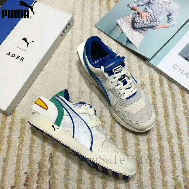 5884ddcb PUMA x ADER ERROR RS-100 zapatos de las mujeres de los hombres Retro  tendencia