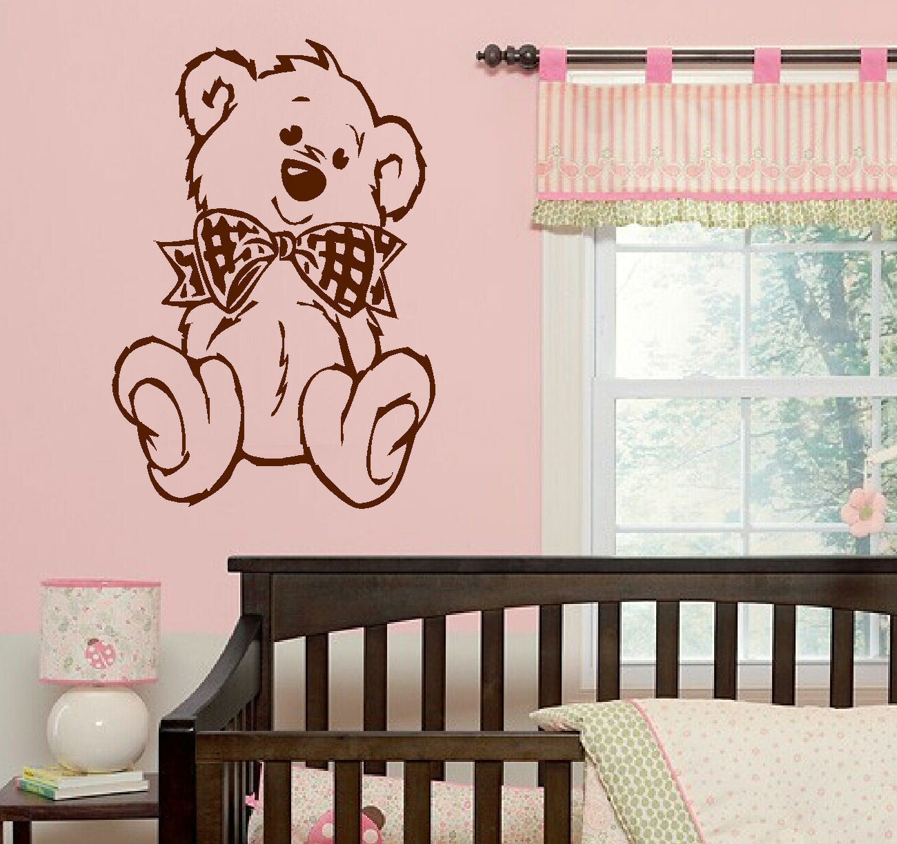 D315 Large Nursery Baby Teddy Bear Wall Art Sticker Transfer Decal 100 Charity In Stickers From Home Garden On Aliexpress Alibaba Group