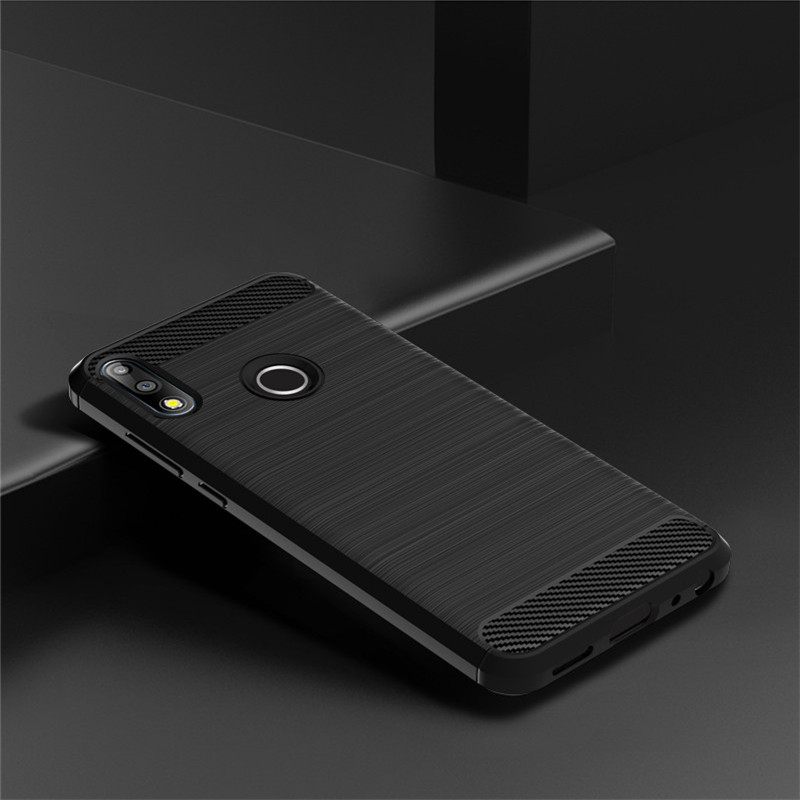 For Asus Zenfone Max Pro M2 ZB631KL Case Soft Carbon Fiber TPU Silicon Bag Cover For ASUS ZenFone Max M2 ZB633KL Phone Cases