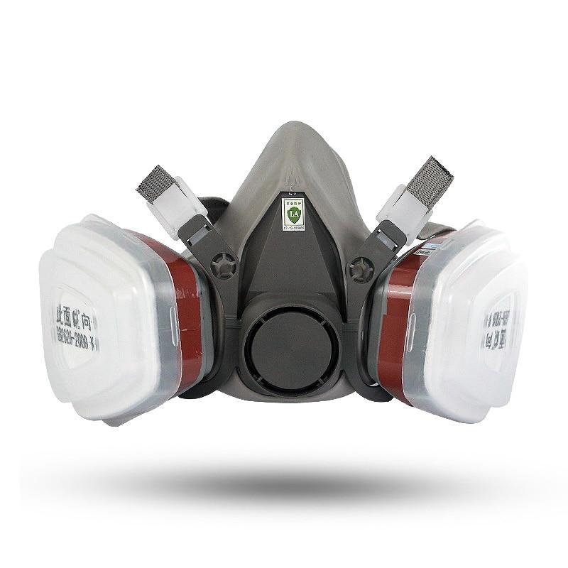 gray respirator