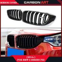 For BMW 4 Series F32 F33 F36 F82 F80 M3 M4 Look Carbon Fiber Car Auto