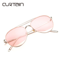 New Design Big Size Women Men Sunglasses Women Mirror Lenses Oversized Anti Reflective Full Frame Alloy