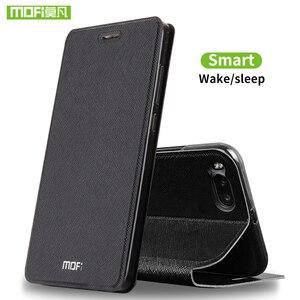Image 2 - Mofi For Xiaomi Mi Note 3 case For Xiaomi Mi Note 3 Pro case cover silicon luxury flip leather original For Xiaomi Mi Note3 case