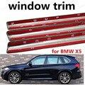 Оптовая продажа  автомобильный Стайлинг  отделка окна  декоративные полоски без колонны для BMW X5  автомобильные аксессуары из нержавеющей с...