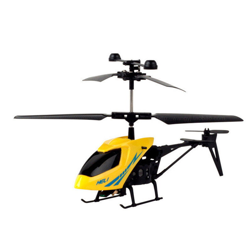 WEYA 2 Channel electric Mini Micro RC Helicopter Fuselage Portable Remote Radio Control Aircraft shatterproof children