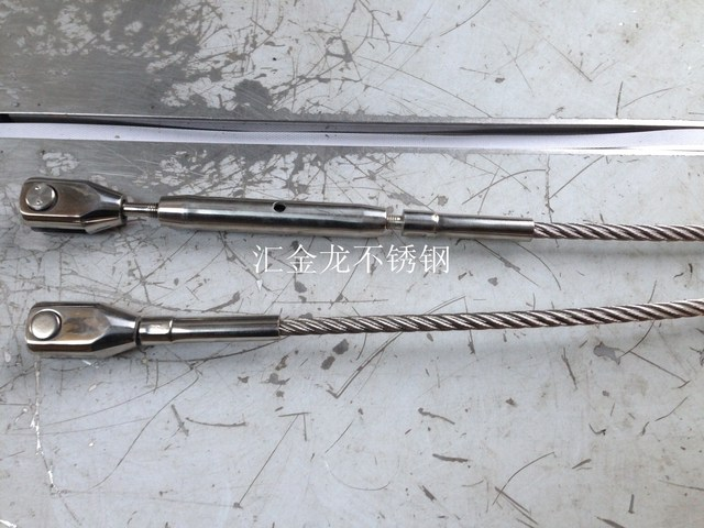 304 stainless steel tension rod for glass curtain wall canopy ...
