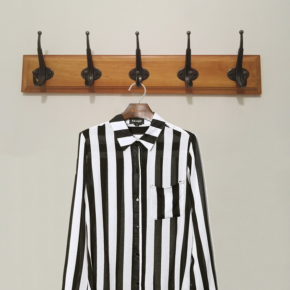 EVERSO 10PCS Stainless Steel Bathroom Robe Rack Wall Clothes Rack Towel Rack Cloth Hanger Coat Rack Coat Hook