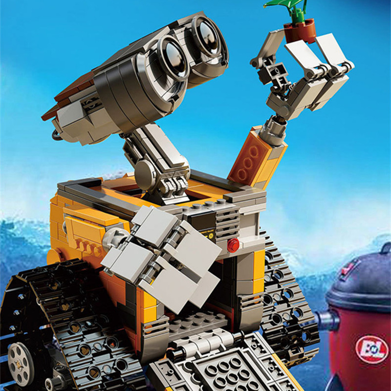 Wall-E Blocks IN STOCK 687pcs free shipping 2017 New  16003 Idea Robot WALL E Building Set Kits Bricks Compatible with E31 new in stock qm30dy 2h