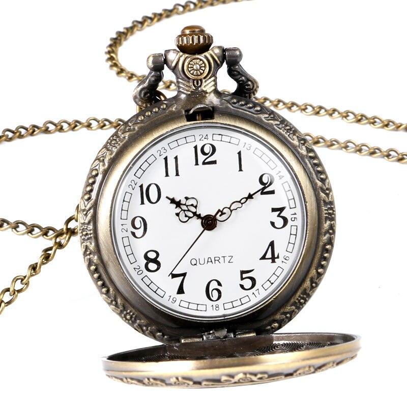 Винтидж мед джобен часовник Алиса в - Джобни часовници - Снимка 2