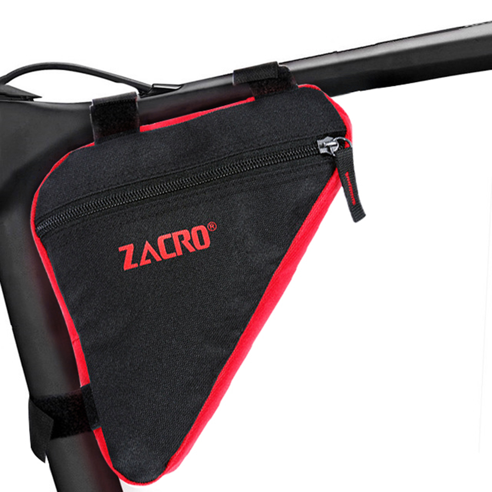 Waterproof Triangle Cycling Bike Bicycle Front Tube Saddle Frame Bag Phone Pouch