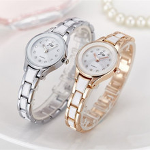 New Brand Women Watches Alloy Crystal Wristwatches Ladies Dress Watches