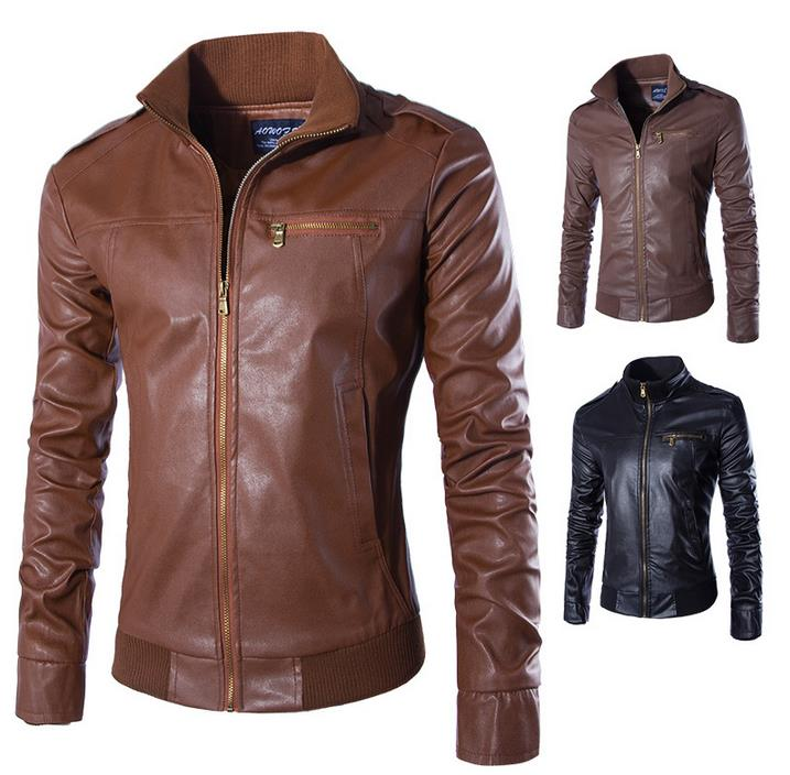 Popular Modern Leather Jackets for Men-Buy Cheap Modern Leather ...