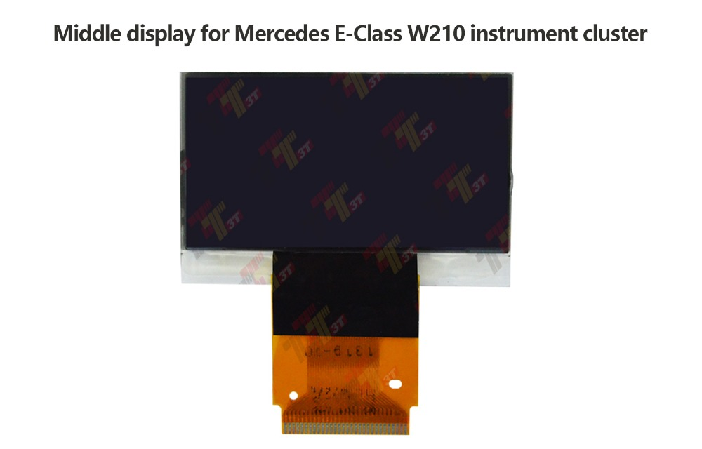 LCD MID DISPLAY FOR MERCEDES C CLK E SLK  INSTRUMENT CLUSTER REPLACEMENT
