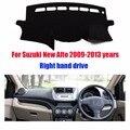 Para Suzuki Alto traço mat painel almofada protetora covers mat Photophobism Pad auto dashboard car styling acessórios 2009-2013
