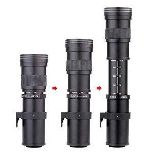 Image 4 - JINTU 420 800mm F/8.3 16 آلة تكبير تليفوتوغرافي عدسات لكاميرات كانون EOS 650D 750D 550D 800D 1200D 200D 1300 5DII 5D3 5DIV 6D كاميرا رقمية