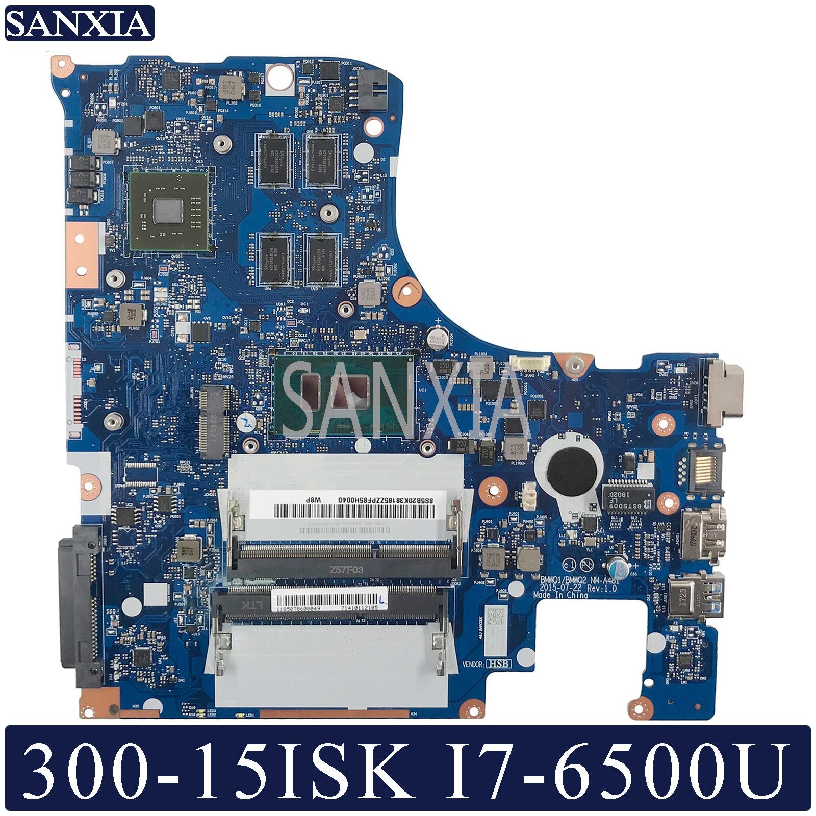 KEFU NM-A481 Laptop motherboard para Lenovo Ideapad I7-6500U 300-15ISK mainboard original com placa de vídeo