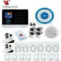 YobangSecurity WIFI 3G GPRS домашняя система сигнализации многоязычное меню операционное приложение дистанционное управление RFID карта беспроводная п...