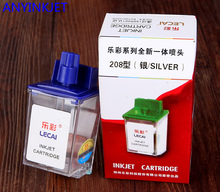 For Novajet 750 lecai 208 Silver printhead novajet transparent head cartridge