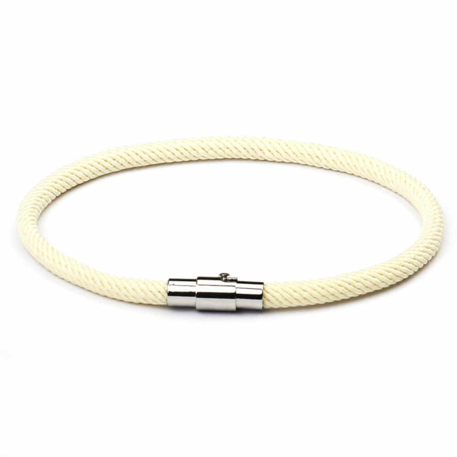 1 szt. Sprzedam modne bransoletki mankietowe bransoletka z czerwonego sznurka Lucky Red ręcznie robiona bransoletka na sznurku szczęście dla kobiet mężczyzn biżuteria