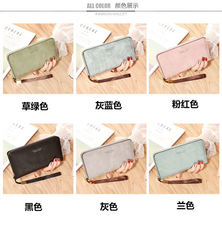 HTB1f9QEaAL0gK0jSZFxq6xWHVXaq - Female Wallet PU Leather Long Purse Black/pink/blue/green/gray Famous Brand Designer Wallet Women Quality Female Purse
