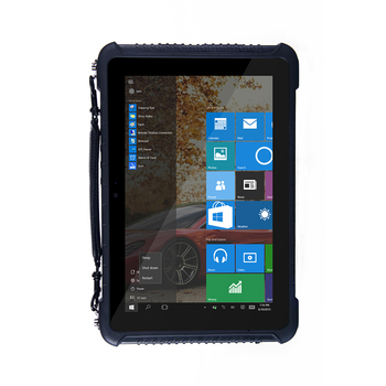 10.1'' Rugged 2G RAM 32G ROM Windows 10 / Android 5.1 Intel cherrytrail Z8350 Rugged Tablet With Barcode Scanner NFC Fingerprint image