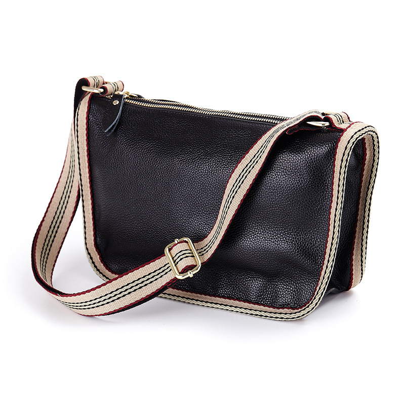 2017 Middle Aged Women Mom Shoulder Bag Leisure Utility Double-deck Cow 100% Genuine Leather Shopping Bag Satchel Brand Design