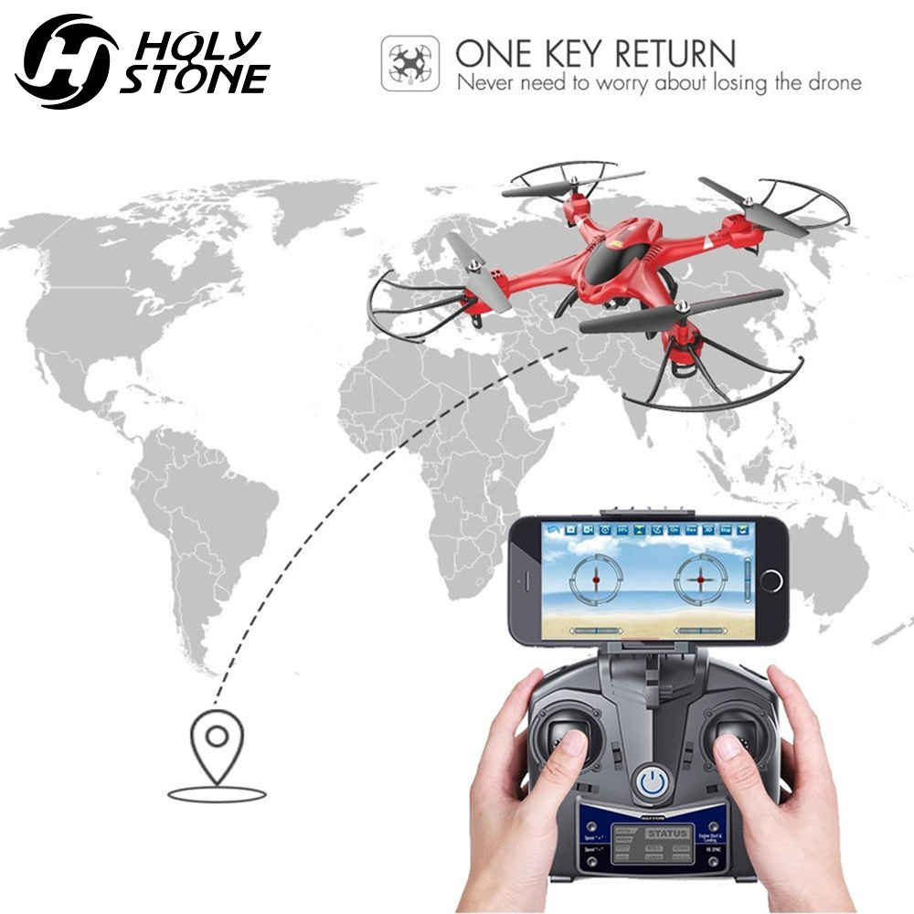 Holy Stone HS200 RC Drone HD 720P Wifi FPV Camera 6-Axis Gyro Quadcopter Headless Mode easy handling RTF Helicopter Drones gift wltoys v393 6 axis gyro brushless headless mode ufo rc quadcopter drone rtf 2 4ghz