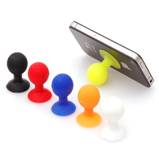 3pcs  Rubber Octopus Sucker Ball Stand Holder For IPod IPhone Samsung IPhone,tablet Pc,Cup Holder Sucker Stand For Mobile Phones
