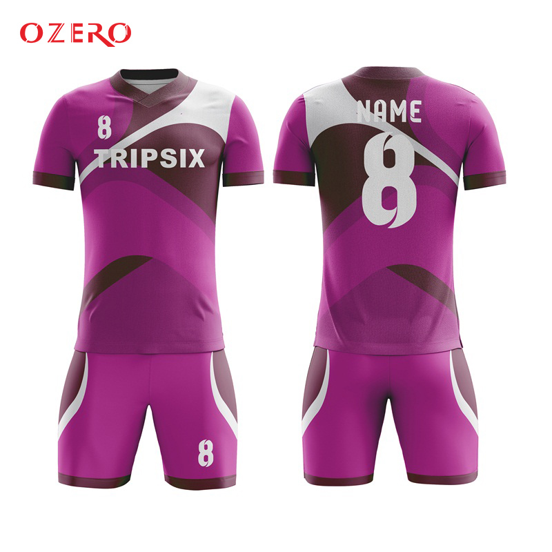 bba7de7cb23 kids quick dry soccer jersey design boys child football kits sublimation  custom sports uniforms futbol training-in Soccer Jerseys from Sports ...