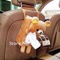 (10 peças/lote) Por Atacado NOVOS acessórios Do Carro Rilakkuma San-X Bonito Plush Car Tissue Box Capa