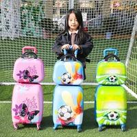 ABS cartoon children's suitcase,18 inch baby suitcase,male child trolley case,universal wheel boarding case,child box,valise